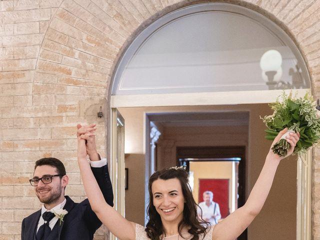 Il matrimonio di Giuliana e Enrico a Corridonia, Macerata 115