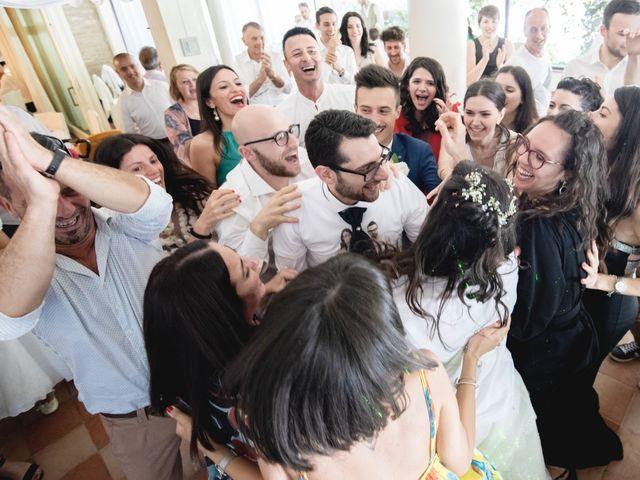 Il matrimonio di Giuliana e Enrico a Corridonia, Macerata 124