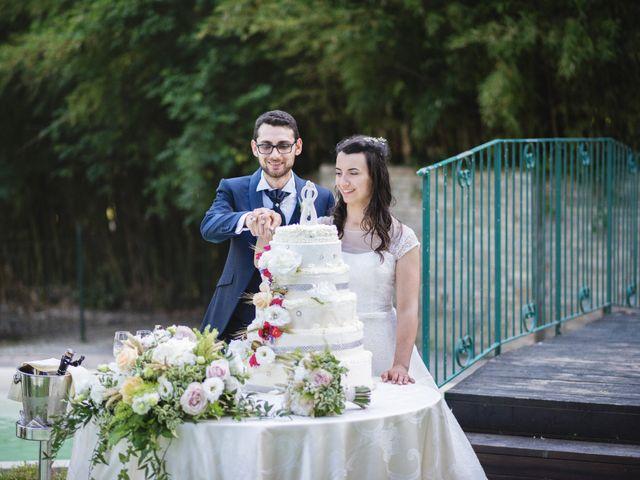 Il matrimonio di Giuliana e Enrico a Corridonia, Macerata 139