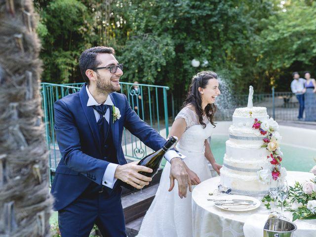 Il matrimonio di Giuliana e Enrico a Corridonia, Macerata 142