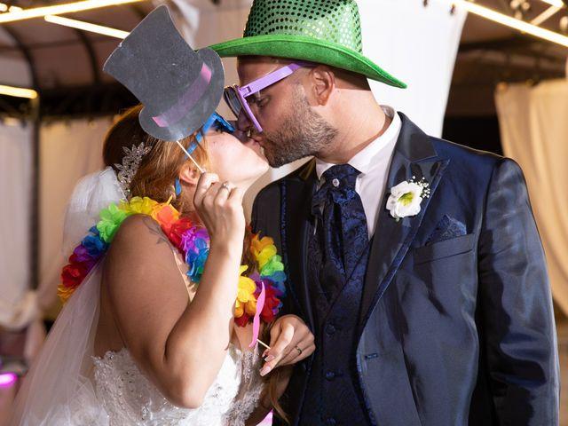 Il matrimonio di Massimiliano e Sarah a Marino, Roma 9