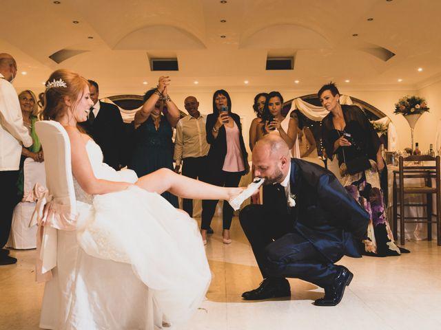 Il matrimonio di Massimiliano e Sarah a Marino, Roma 16
