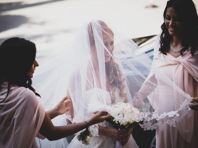 Il matrimonio di Massimiliano e Sarah a Marino, Roma 28