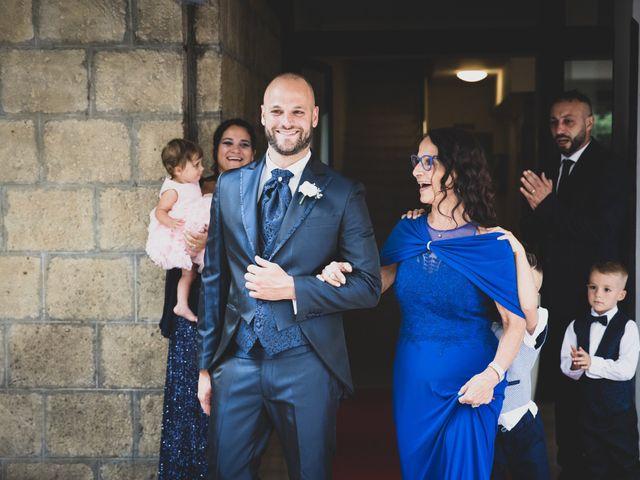 Il matrimonio di Massimiliano e Sarah a Marino, Roma 34