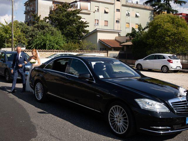 Il matrimonio di Massimiliano e Sarah a Marino, Roma 40