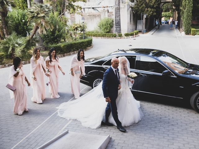 Il matrimonio di Massimiliano e Sarah a Marino, Roma 43