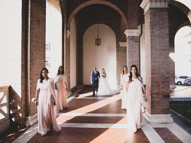 Il matrimonio di Massimiliano e Sarah a Marino, Roma 44