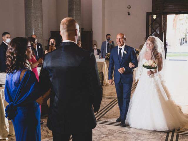 Il matrimonio di Massimiliano e Sarah a Marino, Roma 45