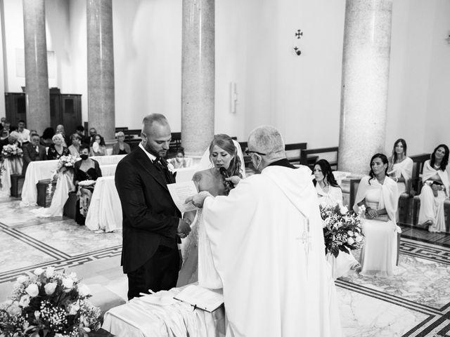 Il matrimonio di Massimiliano e Sarah a Marino, Roma 50