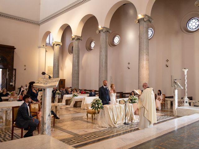 Il matrimonio di Massimiliano e Sarah a Marino, Roma 51