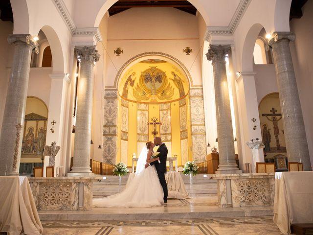 Il matrimonio di Massimiliano e Sarah a Marino, Roma 54