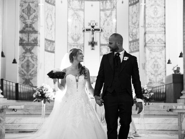 Il matrimonio di Massimiliano e Sarah a Marino, Roma 55