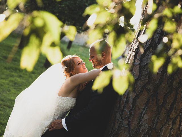 Il matrimonio di Massimiliano e Sarah a Marino, Roma 65