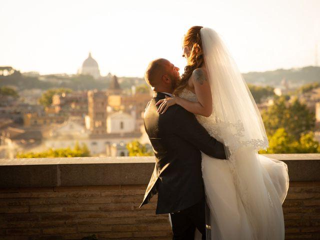 Il matrimonio di Massimiliano e Sarah a Marino, Roma 67