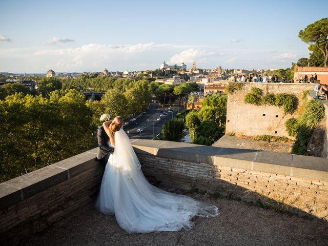 Il matrimonio di Massimiliano e Sarah a Marino, Roma 68