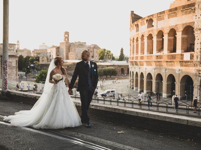 Il matrimonio di Massimiliano e Sarah a Marino, Roma 69