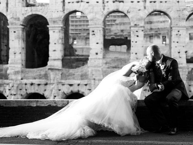 Il matrimonio di Massimiliano e Sarah a Marino, Roma 70