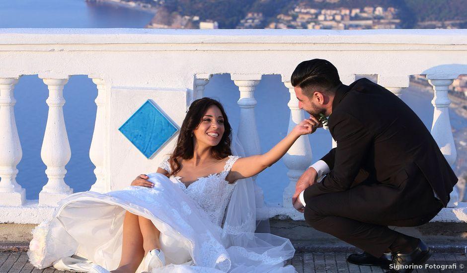 Il matrimonio di Fabio e Sara a Patti, Messina