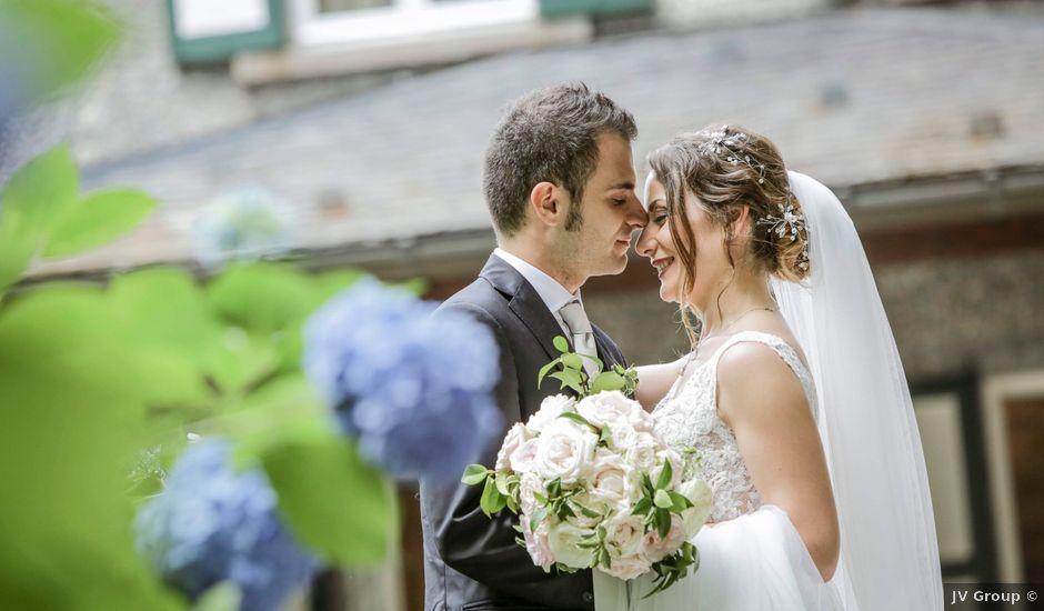 Il matrimonio di Riccardo e Isabella a Canzo, Como