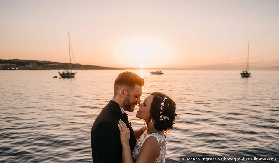 Il matrimonio di Emanuele e Jessica a Brucoli, Siracusa