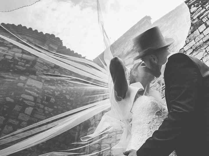 Le nozze di Stefania Bosio e Marco Brunelli
