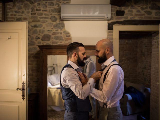 le nozze di Aldo e Ray