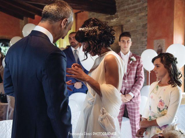 Il matrimonio di Giacomo e Elena a Santa Giuletta, Pavia 9