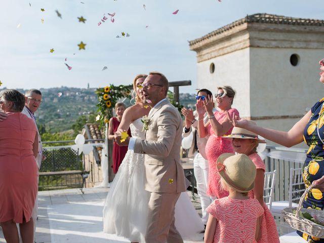 Il matrimonio di Rik e Petra a Città Sant'Angelo, Pescara 46