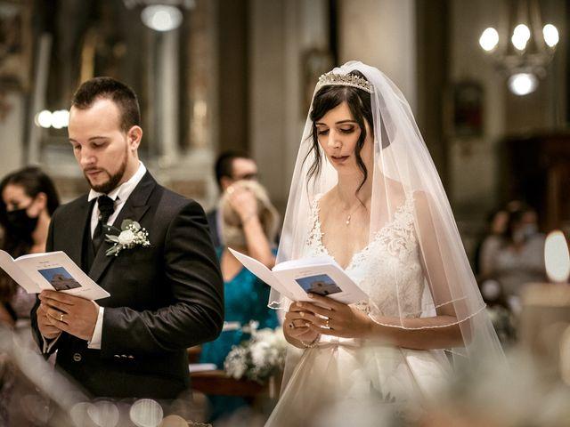 Il matrimonio di Denny e Ilaria a Rezzato, Brescia 19