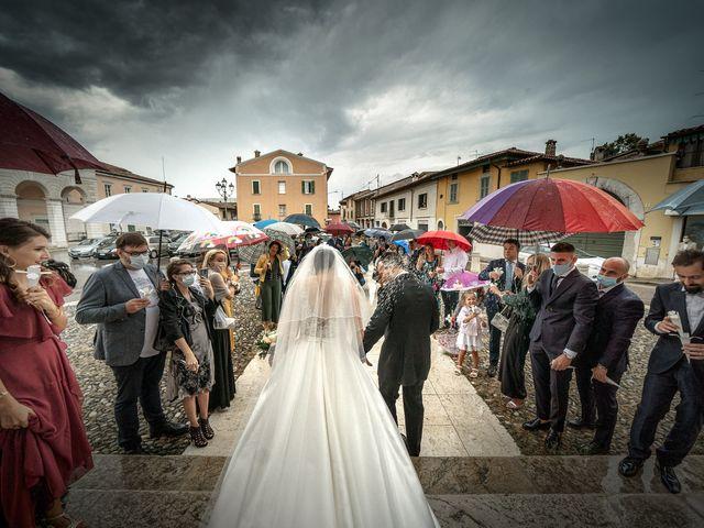 Il matrimonio di Denny e Ilaria a Rezzato, Brescia 24