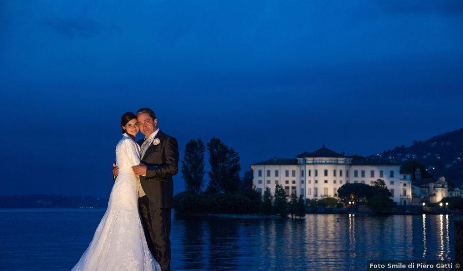 Il matrimonio di Massimo e Veronica a Stresa, Verbania