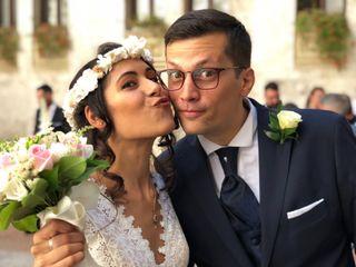 Le nozze di Stefano e Rachele