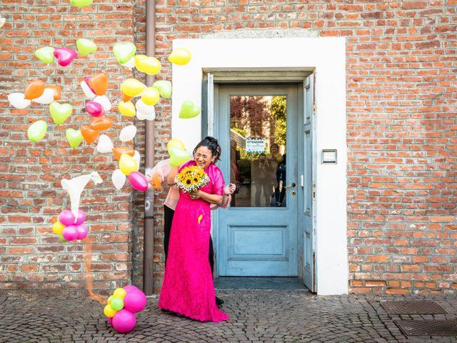 Il matrimonio di Claudia e Gaia a San Donato Milanese, Milano 15