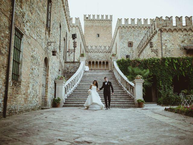 Il matrimonio di Marc e Zaira a Parma, Parma 69