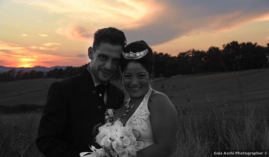 Il matrimonio di matteo e jessica a Bracciano, Roma