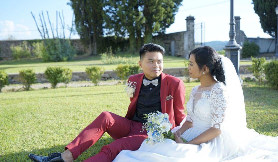 Il matrimonio di Kervin e Luisa a Firenze, Firenze