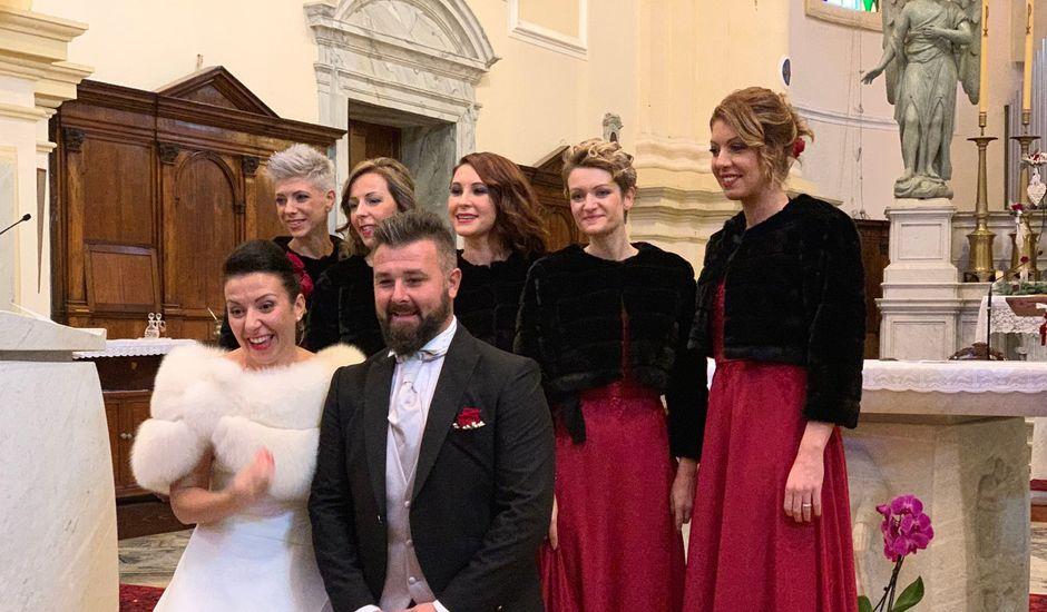 Il matrimonio di Michele e Alessandra a Tribano, Padova