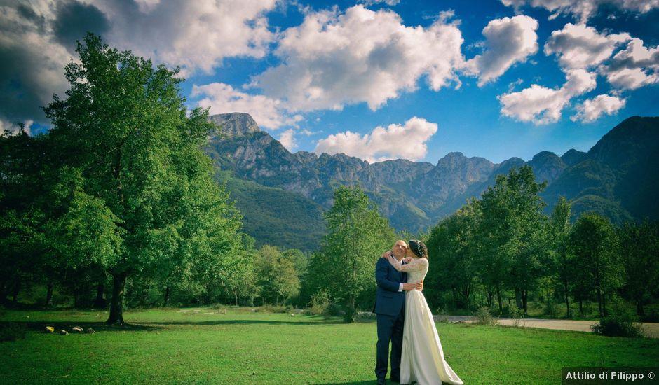 Il matrimonio di Fabio e Elena a Villetta Barrea, L'Aquila