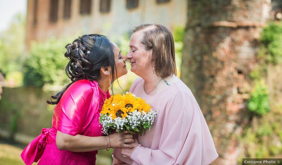 Il matrimonio di Claudia e Gaia a San Donato Milanese, Milano