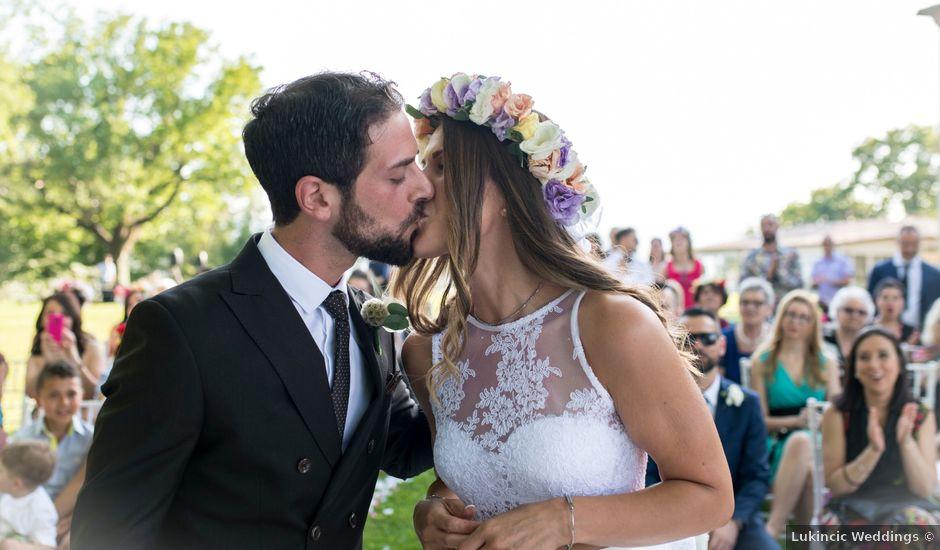 Il matrimonio di Prisco e Francesca a Tolentino, Macerata