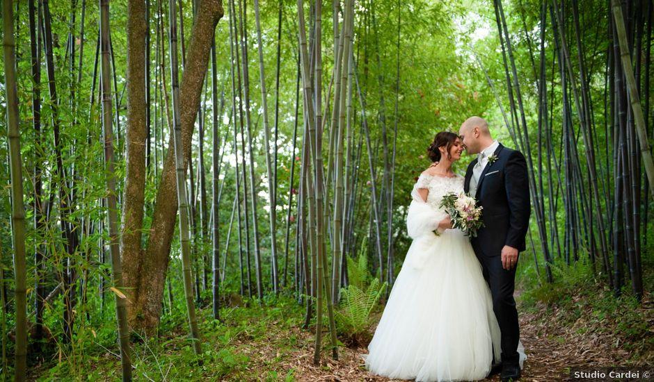 Il matrimonio di Giuseppe e Valentina a Bracciano, Roma