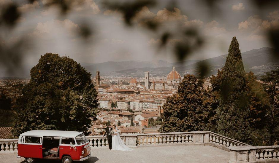 Il matrimonio di Antonio e Marta a Sesto Fiorentino, Firenze
