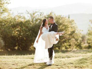 Le nozze di Stephanie e Drake
