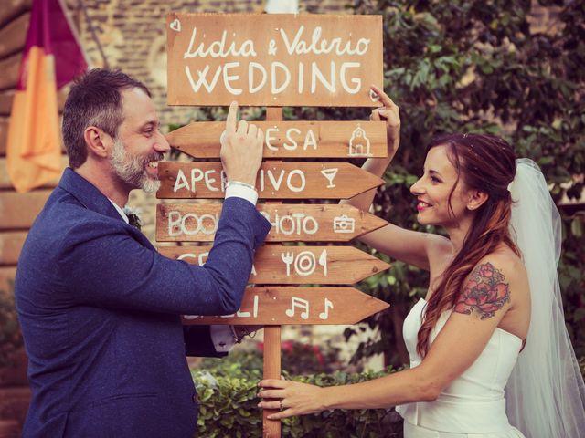 Il matrimonio di Valerio e Lidia a Roma, Roma 85