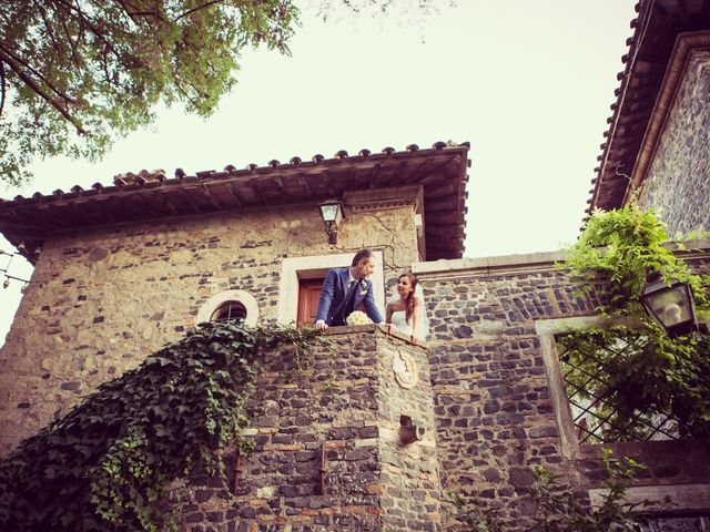 Il matrimonio di Valerio e Lidia a Roma, Roma 98