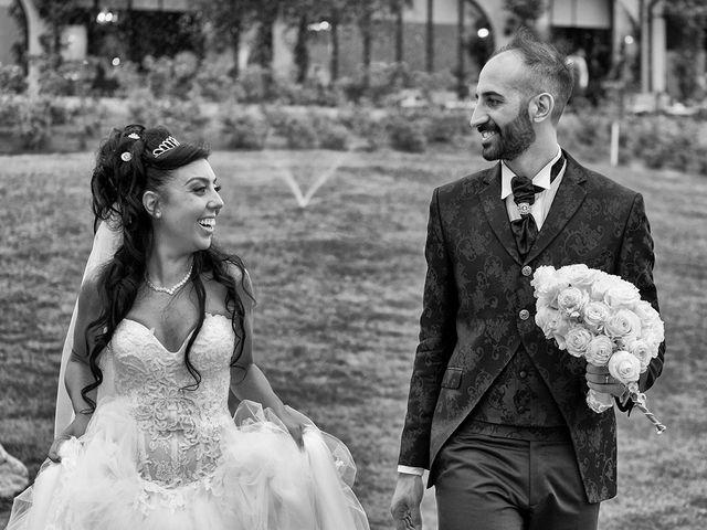 le nozze di Francesca e Eros