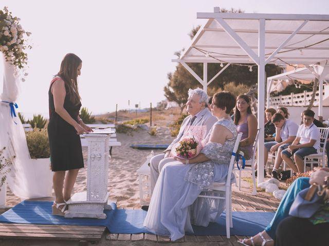 Il matrimonio di Pietro e Michela a Torvajanica, Roma 14