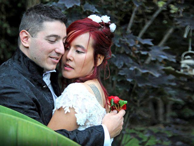 Il matrimonio di Fabrizio e Cithwann a Frascati, Roma 2