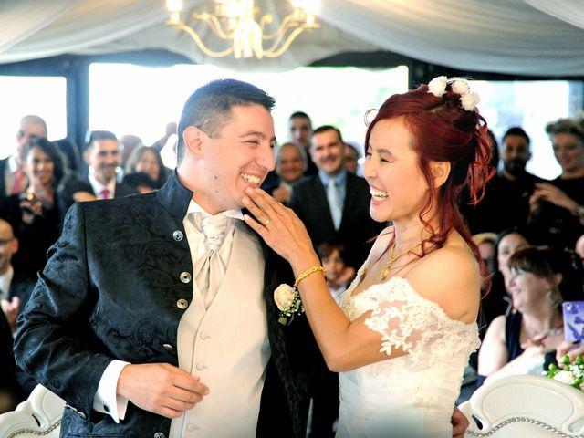 Il matrimonio di Fabrizio e Cithwann a Frascati, Roma 4