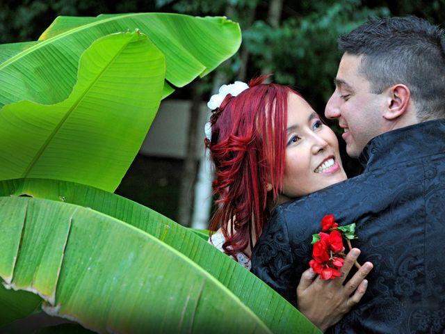 Il matrimonio di Fabrizio e Cithwann a Frascati, Roma 9